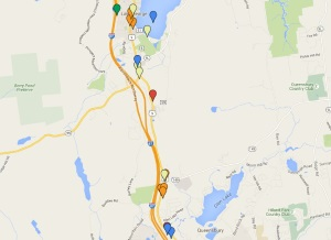 Maps of Lake George Attractions (small)