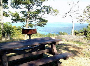 Have a Picnic at the top of Prospect Mountain