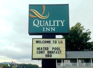 Front of the Quality Inn