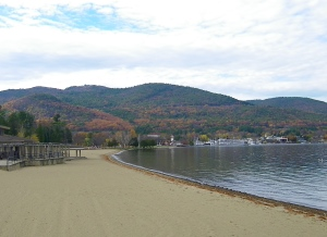 Beach of Lake George